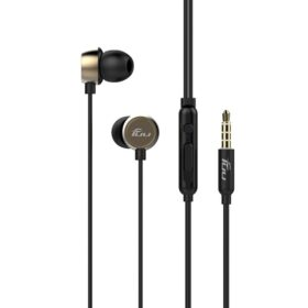 Walton SV02 Gold Durable and Stylish Metal Earlap Earphone