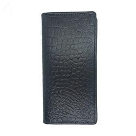 Long Slim Mobile Leather Wallet For Men