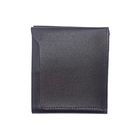 Dark Brown Color Leather Wallet For Men