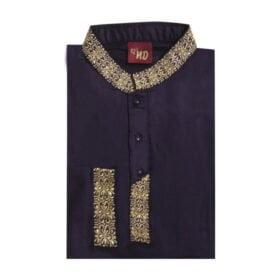 Purple stylish Men's Panjabi